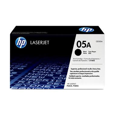 HP CE505A Toner Cartridge 05A - Black