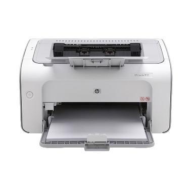 HP Laserjet P1102W Monochrome Putih Printer
