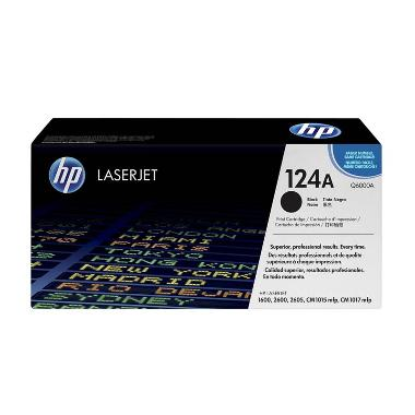 HP Q6000A Black Toner Cartridge [124A]