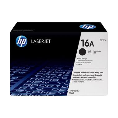 HP Q7516A Black Toner Cartridge [16A]