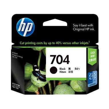 HP 704 Tinta Printer - Black