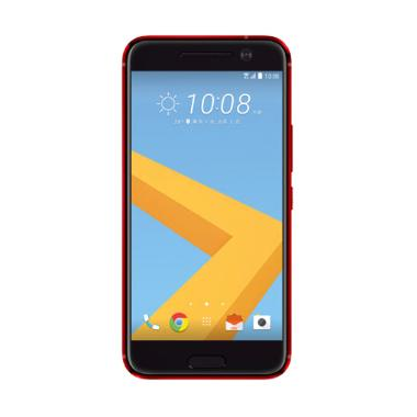 HTC 10 Camellia Spesial Edition Smartphone - Red [32 GB/4 GB]