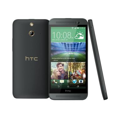 HTC One E8 Smartphone - Dark Grey [16GB/ 2GB/ Dual SIM]