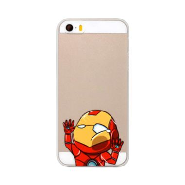 iBuy Face Iron Man Hit Glass Clear  ...