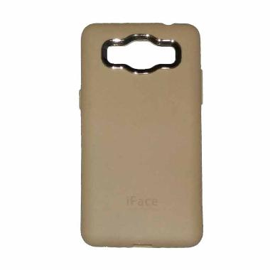 iFace Softshell Casing for Samsung Galaxy G530 Grand Prime - Hitam
