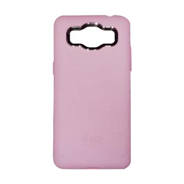 iFace Softshell Casing for Samsung Galaxy J1 Ace J110 - Pink