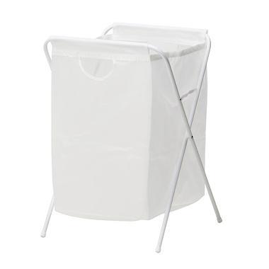 Ikea Jall Laundry Basket - White