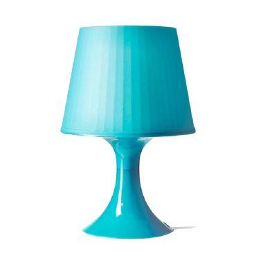 Ikea Lampan Biru Lampu Meja