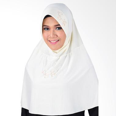 Inara House Shelma Hijab - Putih Tulang
