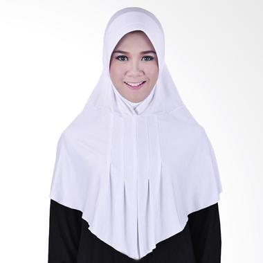 Jual Jilbab Bergo Putih Terbaru Harga Murah Blibli Com