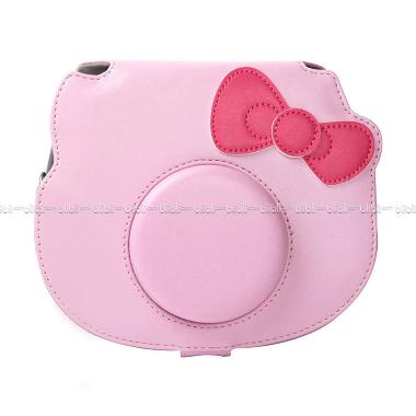 Fujifilm Leather Bag Polaroid Insta ... ty Tas Case Kamera - Pink