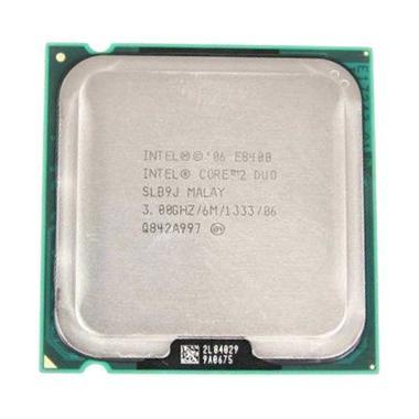 Intel Core2 Duo E8400 Processor [3.00/Tray/Socket 775] + Fan