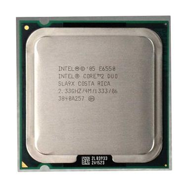 Intel Core 2 Duo E6550 Prosesor [2.33 Ghz/Tray/Fan/Socket 775]