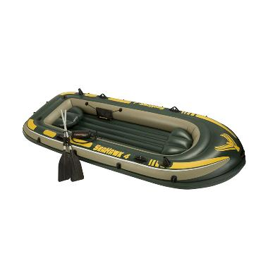 Weekend Deal - Intex - Perahu Karet Seahawk 4 Boat Set 68351