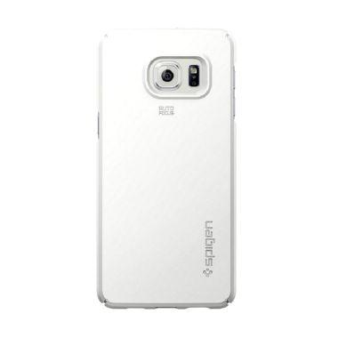 Spigen Thin Fit For Samsung Galaxy S6 Edge Putih