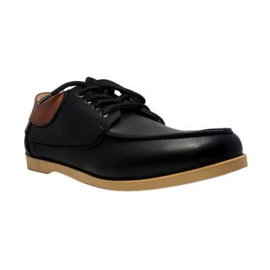 harga D-Island Casual Italy Loafers Black Sepatu Pria Blibli.com