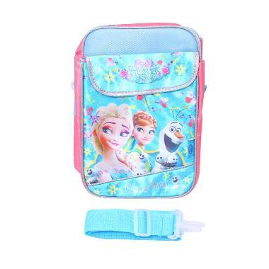 Istana Kado 2 in 1 Frozen Elsa Anna Tas Selempang - Biru