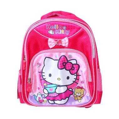 Istana Kado Ransel DL0628 Hello Kitty Tas Sekolah Anak - Pink