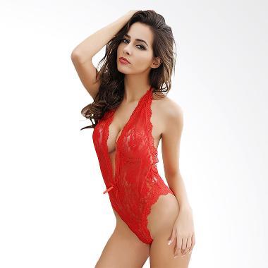 Jakarta Lingerie Babydoll JLC569 V- ... akaian Dalam Wanita - Red