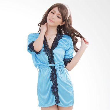 Jakarta Lingerie JLF169 Blue Kimono ...