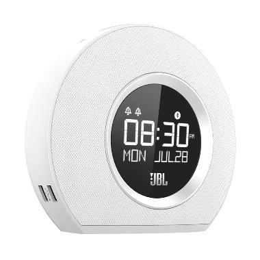 AEON - JBL Horizon Bluetooth Clock Radio With USB Charging - White
