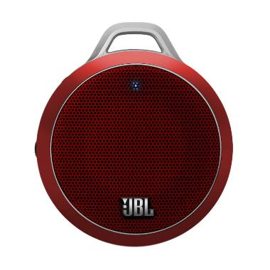 JBL Micro Wireless Bluetooth Speaker - Merah