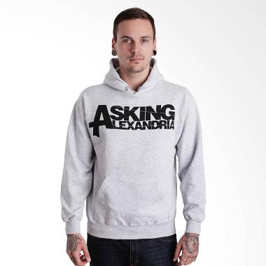 Jersi Clothing Asking Alexandria-02 ... oodie Sweater Pria - Grey