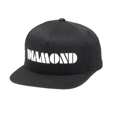 Jersi Clothing Snapback Diamond Topi