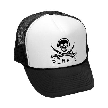 Jersiclothing Mesh Trucker Music Pirate-02 Topi