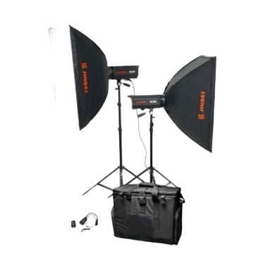 JinBei ECD V 600 Paket Flash Kamera [2A Kit Softbox/80x120]