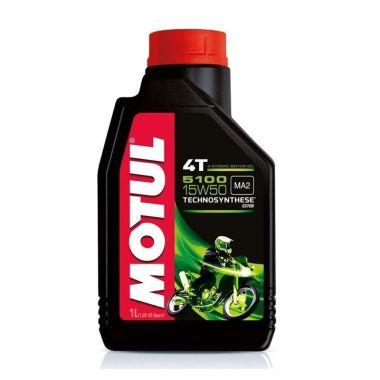 Oli Motul 5100 4 Stroke 15W-50 Motor Oil Oli Pelumas [1 L]