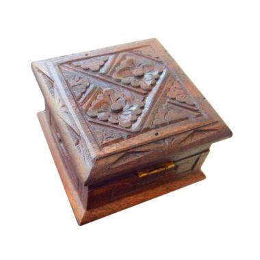 Jnanacrafts Motif Batik Kotak Kayu  ...