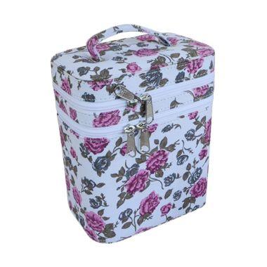 Jogja Craft Bunga Putih Tas Make Up
