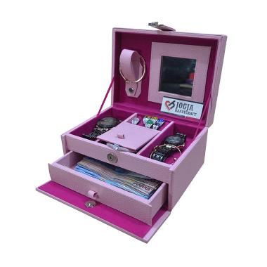 Jogja Craft JW01APNK Baby Pink Jewe ... at Perhiasan & Accesories
