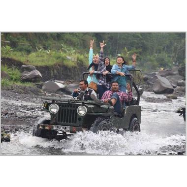 Jual Jogja Outbound - Paket Lava Tour Merapi Off Road Jeep ...