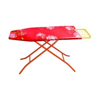Glory Home Meja Setrika Fleksibel Aluminium Merah