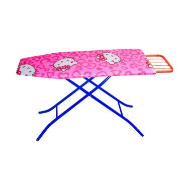 Glory Home Meja Setrika Aluminium Fleksibel Pink