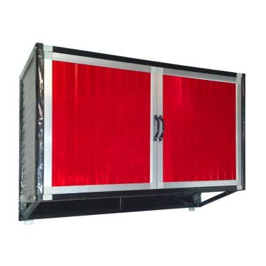 Jual bina karya kitchen set full aluminium lemari for Jual kitchen set aluminium