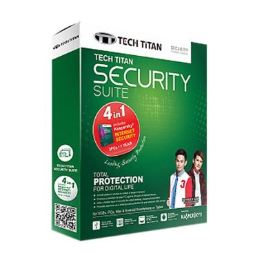 Kaspersky Tech Titan Security Suite 2015 Software