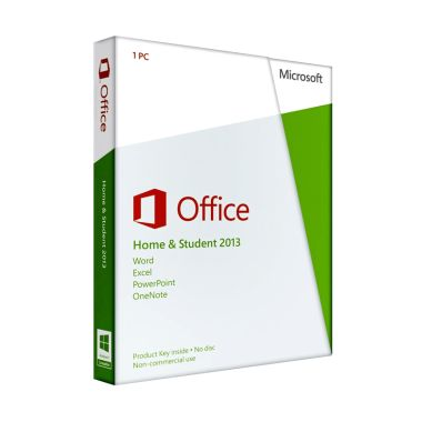 Microsoft Office Home and Student 2013 Software