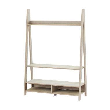 JYSK 110051000 Tangga Rak TV - Oak [125 cm]