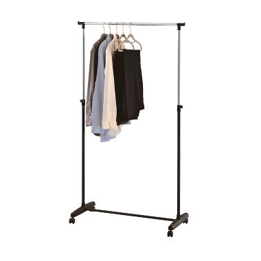 JYSK Clothes Rail Jerslev Metal - Black