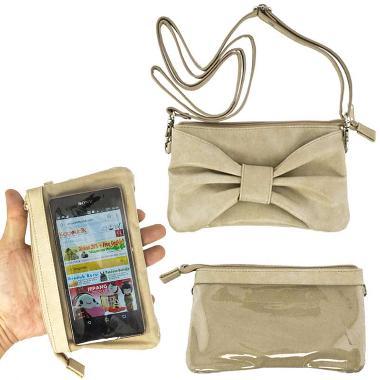 Kadounik Hamee Tas Selempang for Smartphone - Light Brown