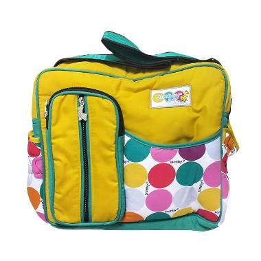 Kalla Tas Bayi Snobby Medium Baby Bag Marbles 1572 - Kuning