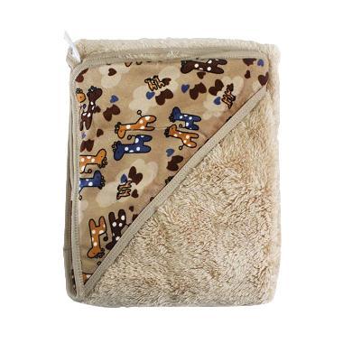 Kalla Topi Carter's Double Fleece C ... fe Selimut Bayi - Cokelat