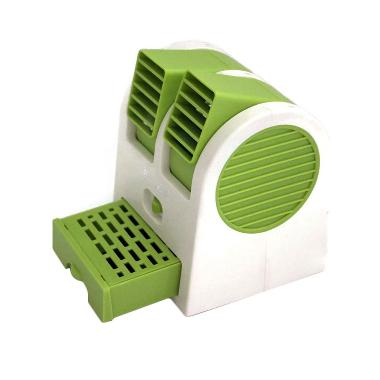 Kalno Mini Fan Dauble Blower - Hijau