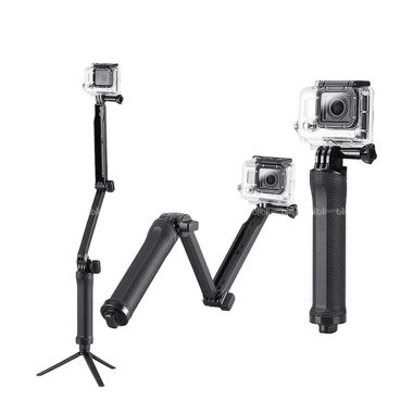Godric GoPro 3 Way Grip Arm Tripod  ...  B-PRO & Xiaomi Yi Camera