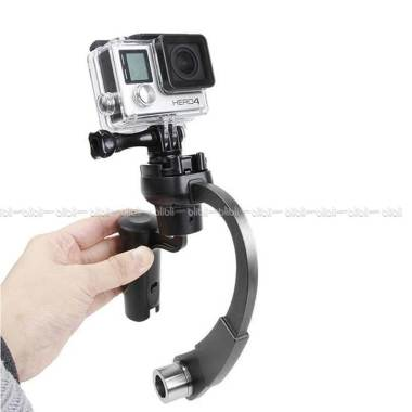 Action Cam Plastic Curve Stabilizer ... B-PRO & Xiaomi Yi - Hitam