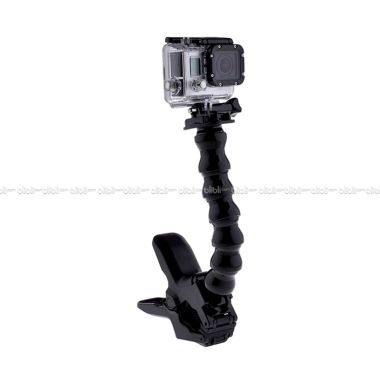 GoPro Jaws Flex Clamp Mount for GOPRO, BRICA B-PRO & Xiaomi Yi Camera