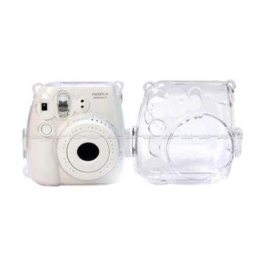 Fujifilm Hardcase Polaroid Case Instax Mini 8 / 9 Casing Transparan